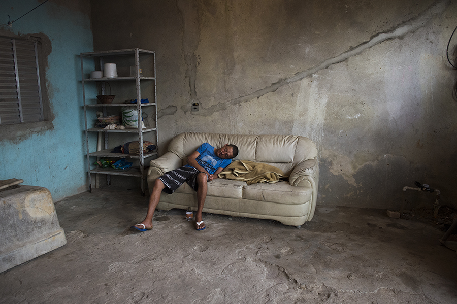 Darkness versus hope in Brazil's favelas