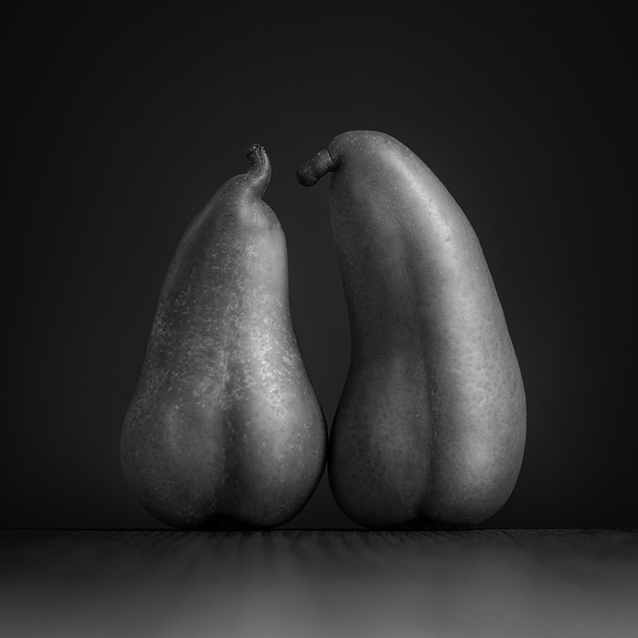 Two pears make a pair