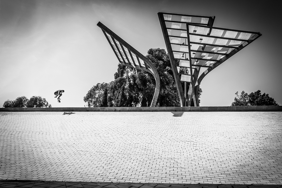 skateboarding meets architecture