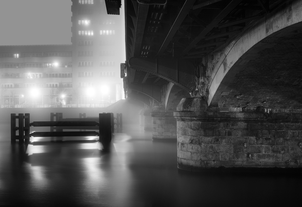 Berlin Bridges by Night & Fog