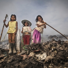 THE CHILDREN OF THE DUMPSITE