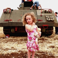 The girl and the tank
