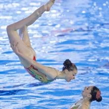 Synchronized swimming 5