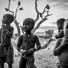 Himba Brothers
